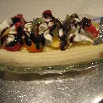 Germany Style Banana Split