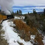 The Durango and Silverton Railway is an awesome day trip from Durango.