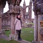 At the Abbey Ruins