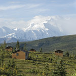 Cabins are situated to make the most of Mt. McKinley views