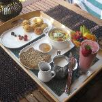 Just one of our amazing breakfasts!