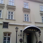 The Amadeus main entrance