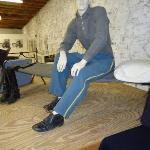 Fort Concho display