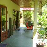 Outside Veranda of a bungalow