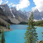  Moraine Lake a half hour drive away.