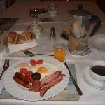 Bernadette's delicious full irish breakfast