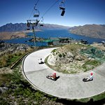 Skyline di Queenstown - Funivia e slittino