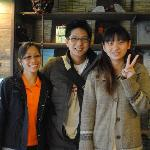 With Mai , Nara Ugaya Receptionist