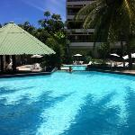  Ouro Branco Praia Hotel - Joao Pessoa, pools and BBQ area (left), clean water, tranquil environm