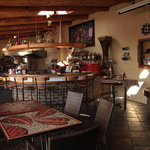  Interior, restaurant