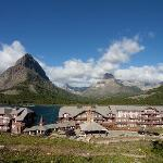  Grinnell Point und Many Glacier Lodge