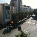  View from balcony down Dizengoff Street