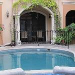 Beautiful pool and courtyard