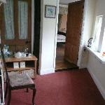 View from Bathroom towards bedroom