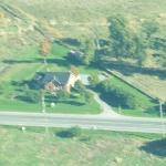  he Tymparon Inn from the air