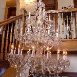 The amazing French Chandelier!
