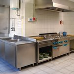  La cucina comune dell&#39;Ostello Burigozzo 11