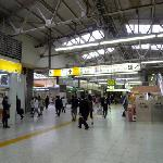 JR Ueno station, central hall