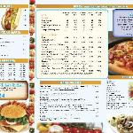 Jack Straw's Pizza Menu
