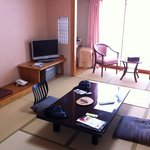 Typical Japanese room (there are a few Japanese/Western ones available though)