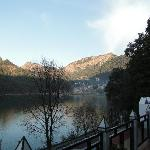 Nainital from balcony (in front room)