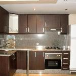 Kitchenette in one of our 2-bedroom apartments