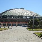 Cockfighting stadium (its huge)