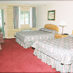 This is a current picture of a Riverview room. This is the decore and condition all rooms are in