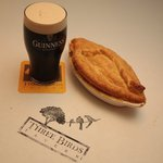 Delicious food and an Imperial pint!