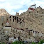 VIEW OF LEH FORT FROM MY ROOM