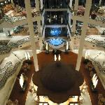  Inside of hotel - the atrium