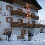 Hotel Garni Roberta at Christmas time
