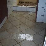 flooded bathroom