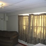 Room 100 (Shabby Couch and Curtains)