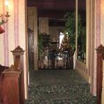View from the front hall of the formal Dining Room