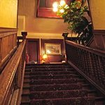 Historic main stairs from lobby