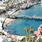 The Avalon Hotel on Catalina Island照片
