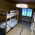  Our dorm room when we arrived, very clean.