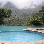 see nature and relax in the infinity pool