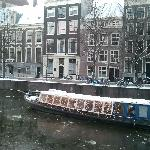 The canal and hotel