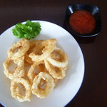Crispy onion ring