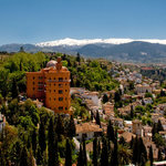 View of Hotel Alhambra Palace & Sierra Nevada