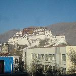 POTALA PALACE VIEW FROM HOTEL RESTAURANT
