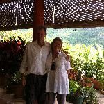  The lovely owners, joan and Jean Michel