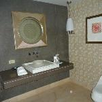  Guest half bathroom