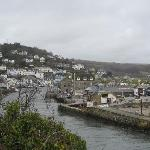  Looe village and harbour