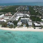 View of Hotel from Helicopter tour!