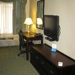 Room 222 - Work/TV area