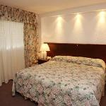 The rooms also have air-conditioning system, high quality bed clothes.