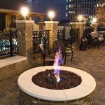 Enjoy the Fire Pit on Cool Evenings